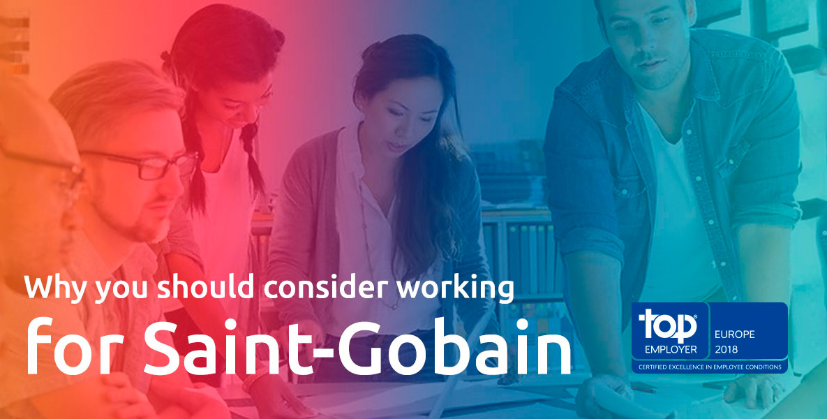 Saint-Gobain named top employer in the nordic & baltic for